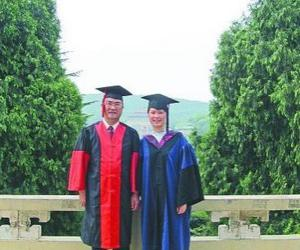 【考研百态】一对父女从武大同一学院同时毕业