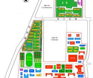 高校导航:北京林业大学校园平面图