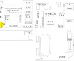 高校导航:中国地质大学(北京)北京校园平面图